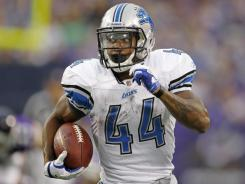 Lions RB Jahvid Best has 1,719 yards from scrimmage in two NFL seasons.