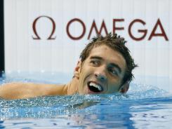 Michael Phelps became the most decorated Olympian in history by winning his 19th medal in the 4x200 freestyle.