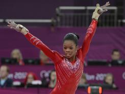 Gabby Douglas, who scored the highest, at 61.465, of the women who competed in all four events in Tuesday's team final, will be one of the favorites for gold in Thursday's all-around finals.
