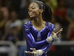 Gabby Douglas has a million-dollar smile and great athleticism, along with other ingredients needed to make her a star.