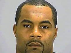 This photo released by Clayton County Sheriff's Office on Wednesday shows former NFL running back Jamal Lewis.