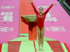 McKayla Maroney's vault earned a near-perfect score from judges.