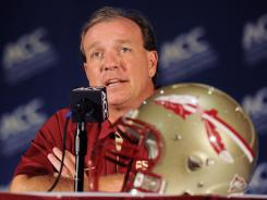 Jimbo Fisher is considering banning Florida State players from Twitter after recent inflammatory tweets by defensive back Tyler Hunter.