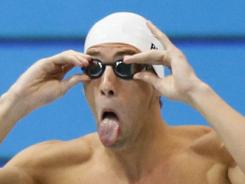 Michael Phelps is the most-decorated athlete in Olympic history. And one of the most popular on Twitter.