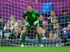 Hope Solo saw little action against North Korea at Old Trafford, making just one save in a 1-0 U.S. victory.