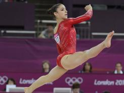 U.S. gymnast Aly Raisman wants to go into fashion design when her gymnastics days are over.