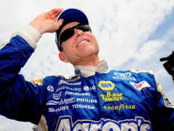 Mark Martin, 53, heads into this weekend with six career runner-up finishes at Pocono and no wins. He was second to Joey Logano in June.