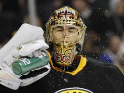 Boston Bruins goalie Tuukka Rask had a 2.05 goals-against average last season.