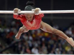 USA gymnast Gabreille Douglas and the rest of the U.S. gymnastics team have been parodied in a YouTube video.