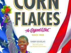 Gabby Douglas Wins All Around Gold – Already on a cereal box!