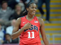 Forward Swin Cash is a three-time WNBA champion who is aiming for her second Olympic gold medal in London.