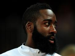 James Harden did not get crossed over against Nigeria, says James Harden.