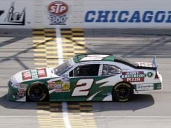 """""""There are (certain) drivers on the Nationwide Series I don't want to be anywhere around because they don't have the most control of their car, and there are drivers I know I can race half an inch from because they have complete control of their car,"""" points leader Elliott Sadler said."""