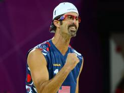U.S. beach volleyball player Todd Rogers says Olympic athletes who make a lot of money should have the honorariums from winning medals taxed, but those in sports in which they struggle for recognition and funds should be left alone.