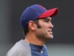 Johnny Damon was hitting .222 with four home runs in 64 games with the Indians.