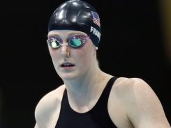 Missy Franklin was the second-fastest qualifier behind American teammate Elizabeth Beisel going into Friday's 200-meter backstroke.