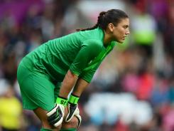 Goalkeeper Hope Solo and the U.S. defense have posted shutouts in their last three matches.