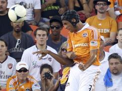 Calen Carr and the Houston Dynamo extended their unbeaten streak to eight games.