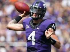 TCU quarterback Casey Pachall shared a home in Fort Worth with linebacker Tanner Brock, who was one of four players kicked off the team after arrests on drug-related charges.