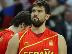 All eyes will be on Spain and center Marc Gasol in its game against Brazil.