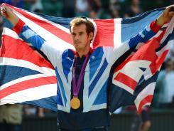 Andy Murray lost to Roger Federer four weeks ago in the Wimbledon final. He turned the tables on his opponent on Centre Court to win a gold medal.