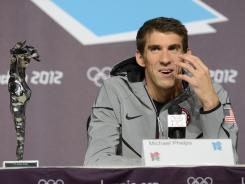 Michael Phelps has been a big ratings draw for NBC, and the network has made the most of it in the London Olympics, even devoting an hour to the record-setting swimmer to open its Sunday night broadcast.