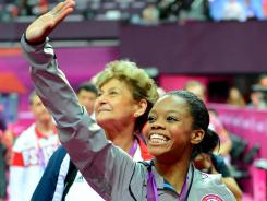 With her smile and her medals, gymnast Gabby Douglas is poised to do quite well on the marketing front.