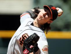 Tim Lincecum was solid Sunday in helping the Giants complete a three-game sweep of the Rockies.