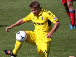The Columbus Crew said Sunday that 22-year-old Kirk Urso has died.