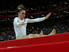 McKayla Maroney failed to land her second vault and finished with silver medal in the event.