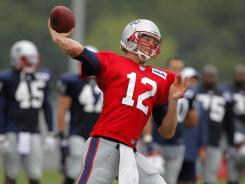 Patriots quarterback Tom Brady, who turned 35 just last week, hasn't show any signs of slowing down.