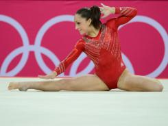 Jordyn Wieber has one more shot at an individual medal when she takes part in the floor routine finals on Tuesday.