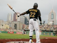 "Spoils of victory: Andrew McCutchen has the Pirates in the playoff picture. ""More doors start to get opened for you when you're on a winner,"" he says."
