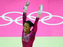 U.S. gymnast Gabby Douglas was the subject of criticism of her hair and leotard colors.
