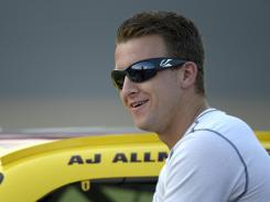 A.J. Allmendinger's last time in a Sprint Cup car was in practice and qualifying at Daytona International Speedway in early July.
