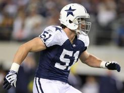 LB Keith Brooking spent the past three seasons in Dallas.
