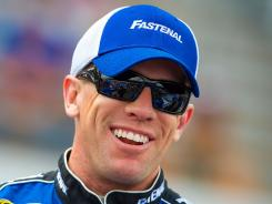 Carl Edwards telephoned a fan struck by lightning Sunday at Pocono Raceway.