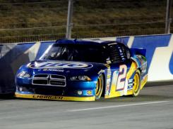 The Dodge Charger, driving to three wins this year by Brad Keselowski, (above), might not be returning to NASCAR in 2013.