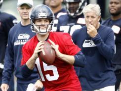 For now, at least, the Seahawks' starting quarterback job belongs to Matt Flynn.