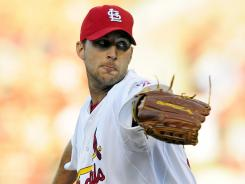 Get him if you can: Cardinals pitcher Adam Wainwright is rounding into form after coming back from elbow surgery and could be a wise late-season addition.
