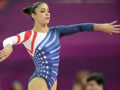 Gymnastics ended with a bang Tuesday for the USA when Aly Raisman won two medals. The sport is a major TV draw.