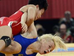 Clarissa Chun defeated Irini Merleni in the bronze medal match.