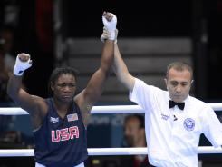 Claressa Shields will go for gold Thursday.