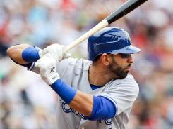 Blue Jays right fielder Jose Bautista has been cleared to take swings again.