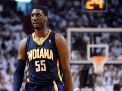 Indiana Pacers center Roy Hibbert hopes to lift the spirits of a very sick 12-year-old fan in Sacramento.