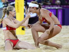 Misty May-Treanor and Kerri Walsh have been a ratings winner for NBC, which got the added bonus of an all-U.S. final in women's beach volleyball Wednesday.