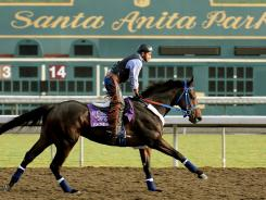 Santa Anita Park in Arcadia, Calif., will host horse racing's world championships for the fourth time in six years in 2013.