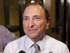 NHL Commissioner Gary Bettman has locked out players in 1994 and 2004. The 2004-05 season was canceled.