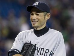 Yankees outfielder Ichiro Suzuki drove in five runs for the first time since Aug. 17, 2004, while playing for the Mariners against Kansas City.