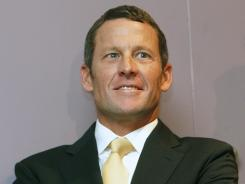 Former cycling champion Lance Armstrong was in court Friday.